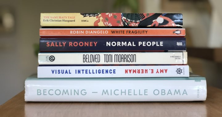 Stack of Books I read in July 2020